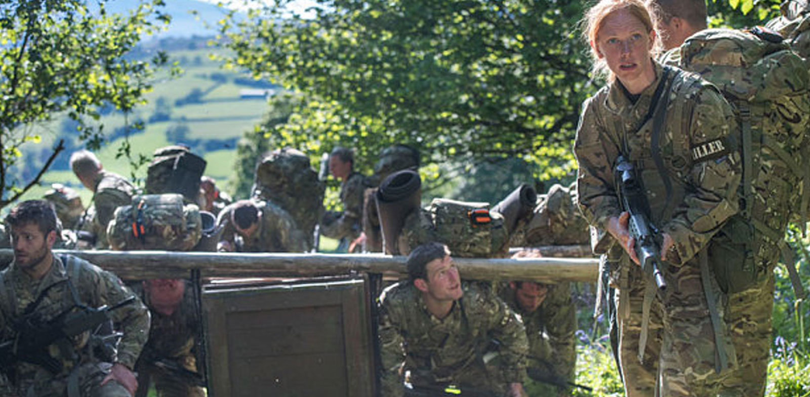 CQC Bergens Survive the BBC TV Show 'Ultimate Hell Week'